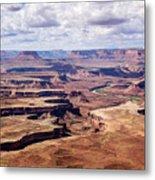 Green River View Metal Print