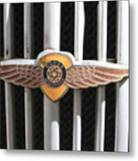 Grill Badge Metal Print