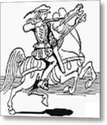 Grimm: Faithful John Metal Print