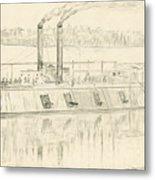 Gunboat Metal Print
