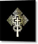 Habesha Holy Cross Metal Print