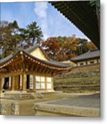 Haeinsa Buddhist Temple Metal Print