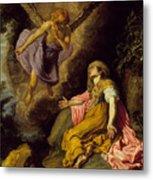 Hagar And The Angel Metal Print