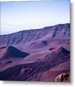 Haleakala Sunrise On The Summit Maui Hawaii - Kalahaku Overlook Metal Print by Sharon Mau