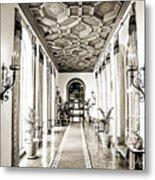 Hallway Of Elegance Metal Print