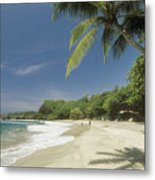 Hana Coast, Hamoa Beach Metal Print