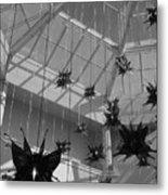 Hanging Butterflies Metal Print