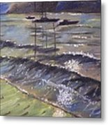 Harbor View Metal Print