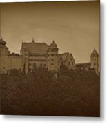 Harburg Castle - Digital Metal Print