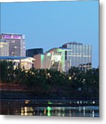 Hartford Skyline Panorama Metal Print