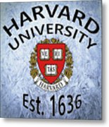 Harvard University Est. 1636 Metal Print