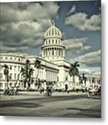 Havana National Capitol Metal Print
