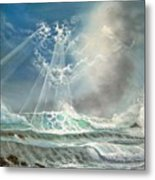 Hawaii Seascape Metal Print