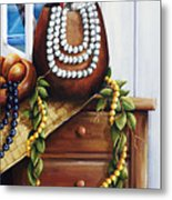 Hawaiian Still Life Panel Metal Print