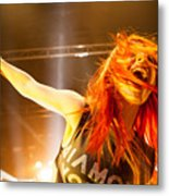 Hayley Williams Metal Print