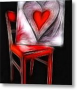 Heart Int Heart Metal Print