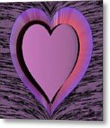 Heart Shape Metal Print
