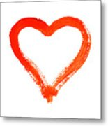 Heart - Symbol Of Love Metal Print