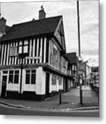 heath mill lane and the old crown pub Birmingham UK Metal Print