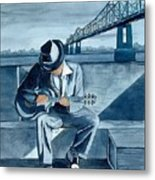 Helena Blues Metal Print