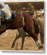 Helluva Rodeo-the Ride 6 Metal Print