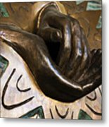 Helping Hands Metal Print