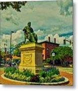 Henry Wadsworth Longfellow Monument - Portland, Maine Metal Print