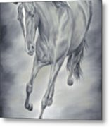 Here She Comes Metal Print by Cathy Cleveland