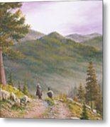 High Country Trails Metal Print