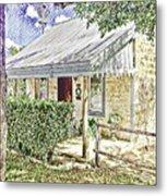 Limestone Cottage Metal Print