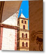 Historic Stone Bell Tower Metal Print