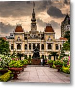 Ho Chi Minh City Hall Metal Print