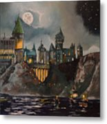 Hogwart's Castle Metal Print by Tim Loughner
