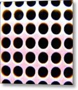 Holes Metal Print
