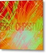 Holiday Burst Metal Print