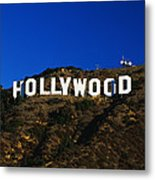 Hollywood Sign Los Angeles Ca Metal Print