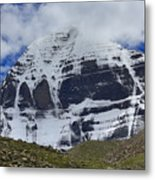 Holy Kailas North Slop Himalayas Tibet Yantra.lv Metal Print
