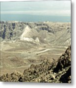 Holy Land: Masada Metal Print