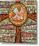 Holy Spirit Prayer By St. Augustine Metal Print