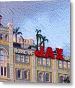 Home Of Jax Beer Metal Print