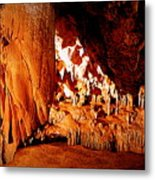 Hometown Series - Luray Caverns Metal Print