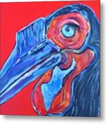 Hornbill Metal Print