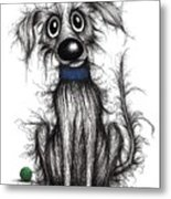 Horrible The Dog Metal Print