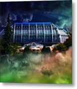 House In The Sky Metal Print