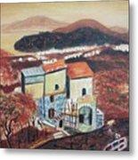 House Sorento Italy Metal Print
