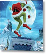How The Grinch Stole Christmas 2000  Metal Print