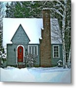 Howland House In Windsor Metal Print