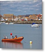 Howth Harbour Metal Print