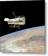 Hubble At Work Metal Print
