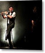 Ian Anderson Of Juthro Tull  Live Concert Metal Print